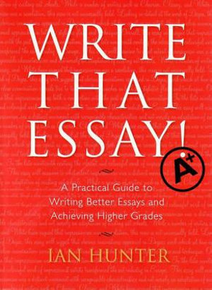 Cover of Write That Essay!
