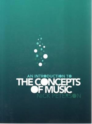 Cover of An Introduction to the Concepts of Music