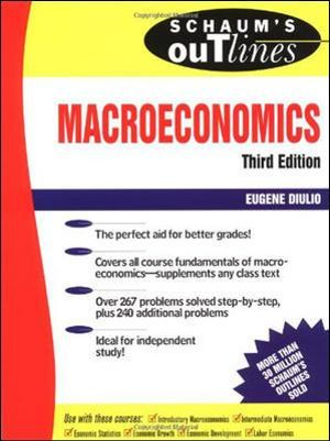 Cover of Schaum's Outline of Macroeconomics