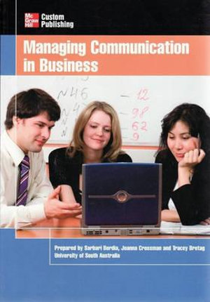 Cover of Managing Communication in Business
