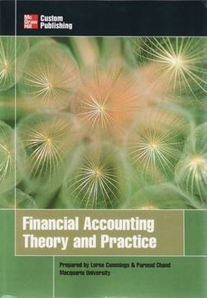 Cover of Financial Accounting Theory and Practice