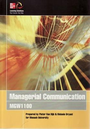 Cover of Managerial Communication
