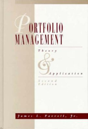 Cover of Portfolio Management