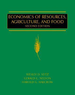 Cover of Economics of Resources, Agriculture, and Food