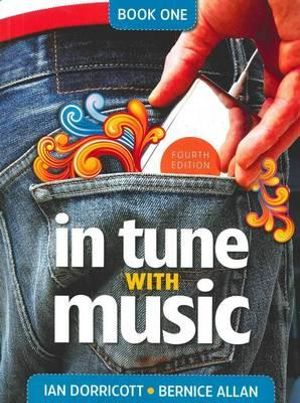 Cover of In Tune with Music Book 1, 4th Edition
