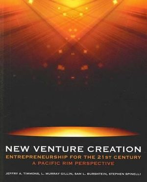 Cover of New Venture Creation: Entrepreneurship for the 21st Century - A Pacific Rim Perspective