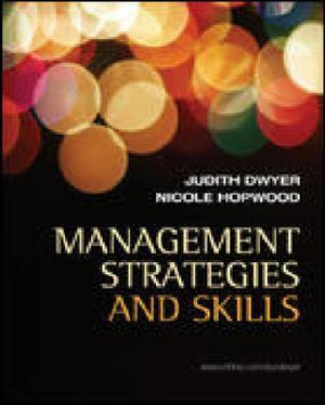 Cover of Management Strategies and Skills