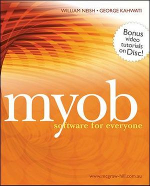 Cover of MYOB Software for Everyone