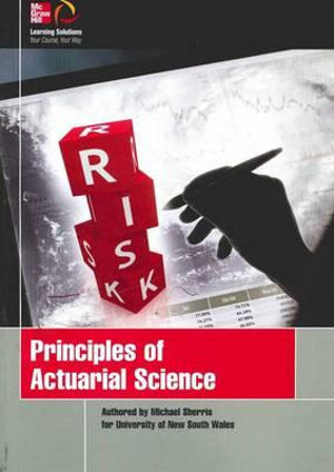 Cover of Principles of Actuarial Science