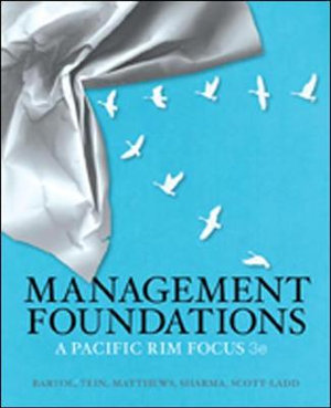 Cover of Management Foundations: A Pacific Rim Focus