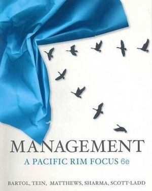 Cover of Management: A Pacific Rim Focus