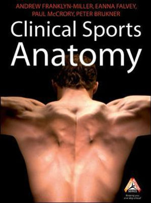 Cover of Clinical Sports Anatomy