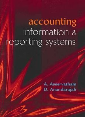 Cover of Accounting Information and Reporting Systems