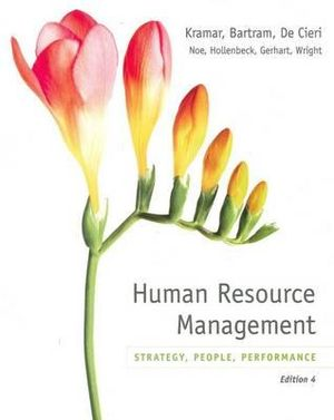 Cover of Human Resource Management in Australia