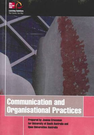 Cover of Communication and Organisational Practices