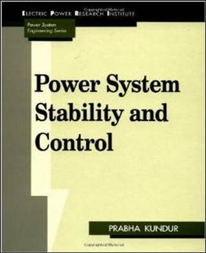 Cover of Power system stability and control