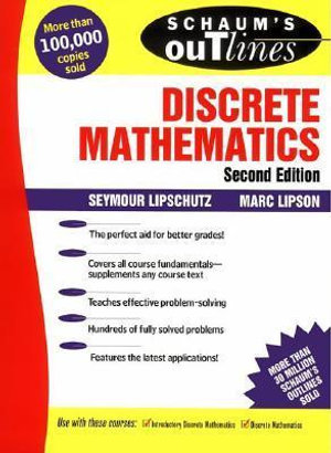 Cover of Schaum's Outline of Theory and Problems of Discrete Mathematics