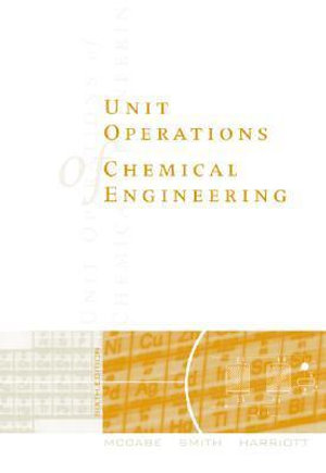Cover of Unit operations of chemical engineering