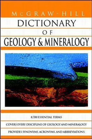 Cover of McGraw-Hill Dictionary of Geology and Mineralogy
