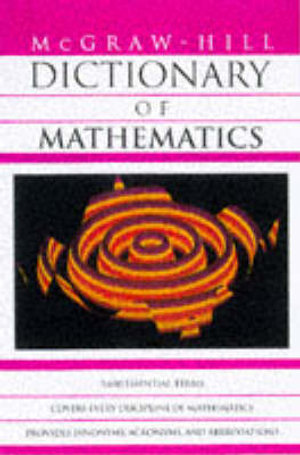 Cover of McGraw-Hill Dictionary of Mathematics
