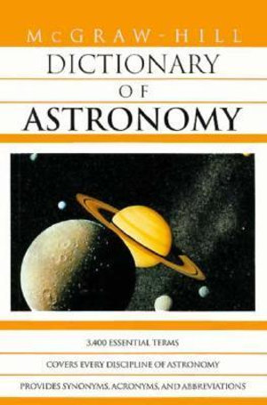 Cover of McGraw-Hill Dictionary of Astronomy