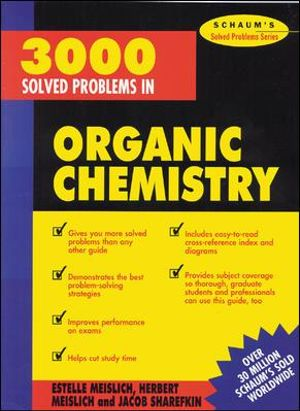 Cover of 3000 Solved Problems in Organic Chemistry