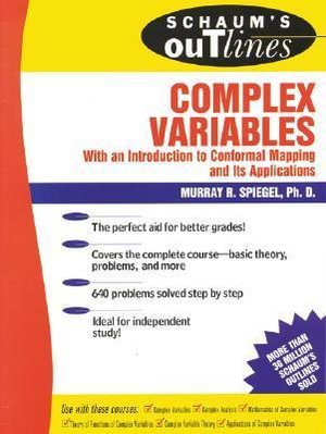 Cover of Schaum's Outline of Theory and Problems of Complex Variables
