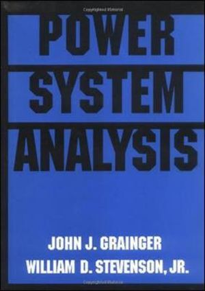 Cover of Power system analysis