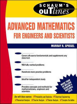Cover of Schaum's Outline of Theory and Problems of Advanced Mathematics for Engineers and Scientists