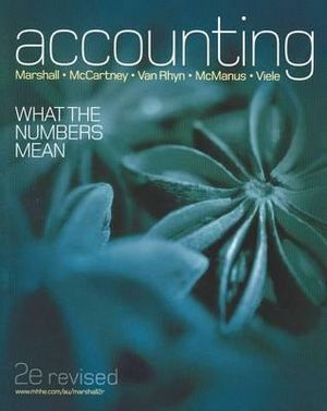 Cover of Accounting: What The Numbers Mean (revised second edition)