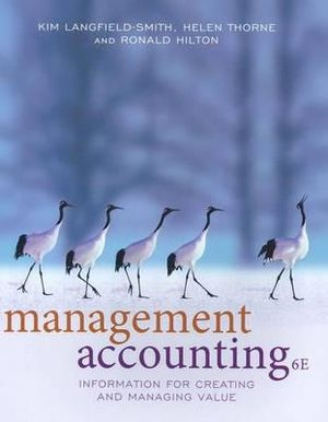 Cover of Management Accounting: Information for Managing and Creating Value