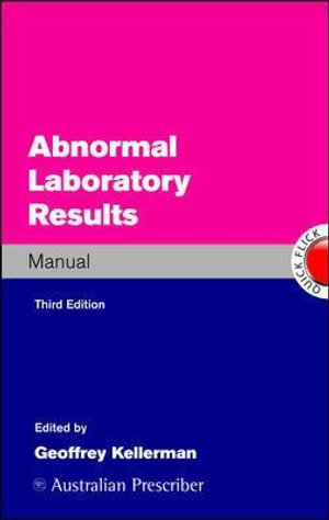 Cover of Abnormal Laboratory Results Manual
