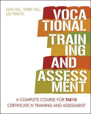 Cover of Vocational Training and Assessment TAE10