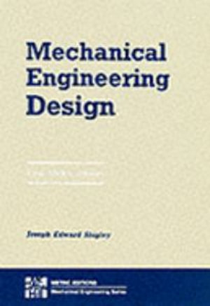 Cover of Mechanical Engineering Design