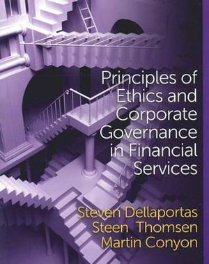 Cover of Principles of Ethics and Corporate Governance in Financial Services