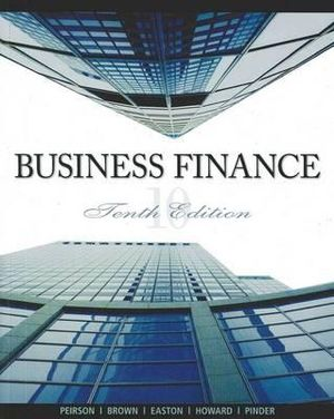 Cover of Business Finance With Connect Plus