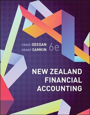 Cover of New Zealand Financial Accounting