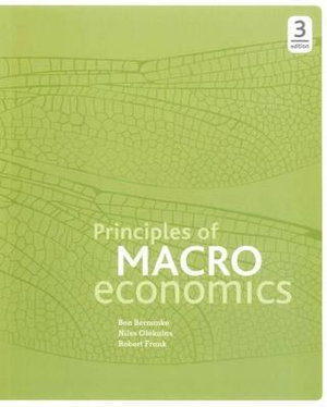 Cover of Principles of Macro Economics