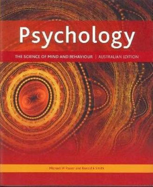 Cover of Psychology: The Science of Mind and Behaviour