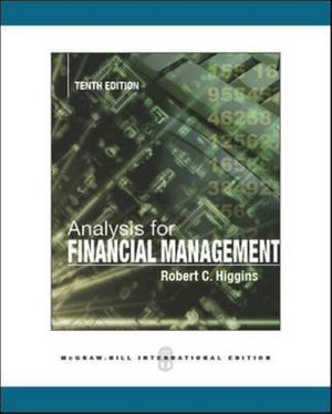 Cover of Analysis for Financial Management