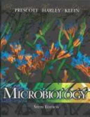 Cover of Microbiology w/ bound in OLC card