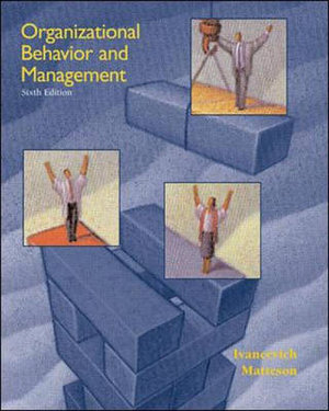 Cover of Organizational Behavior and Management