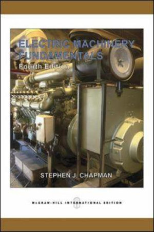 Cover of Electric Machinery Fundamentals