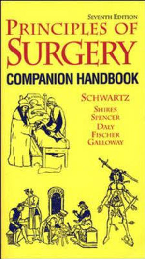 Cover of Principles of Surgery: Comprehensive Handbook