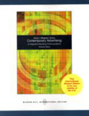 Cover of Contemporary Advertising and Integrated Marketing Communications