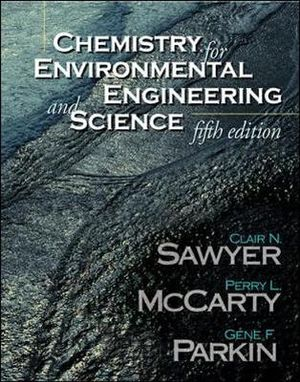 Cover of Chemistry for Environmental Engineering and Science