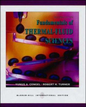 Cover of Fundamentals of Thermal-fluid Sciences