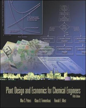 Cover of Plant Design and Economics for Chemical Engineers