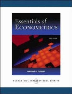 Cover of Essentials of Econometrics