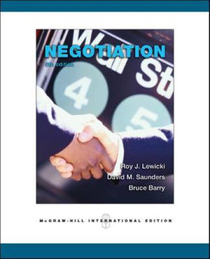 Cover of Negotiation